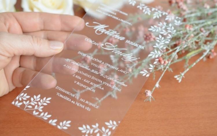 c763df23ed5f svadobné oznámenie s mašľou Svadobné oznámenie priesvtné Svadobné oznámenie  ...